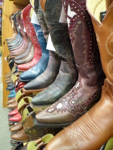 Amazing cowboy boots in Scottsdale, AZ