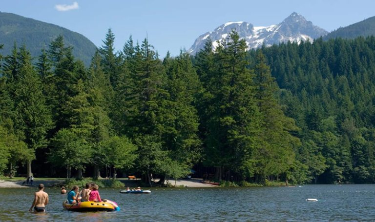 Alice Lake Provincial Park. Photo credit: Tourism Squamish