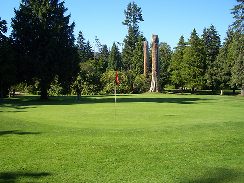 Stanley Park Pitch'n'Putt. Photo: Jacob Wolman, Inside Vancouver