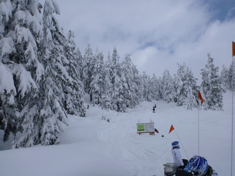 Deep snow and new discoveries