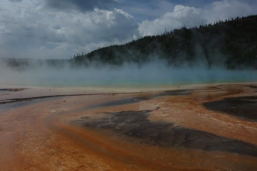 Amazing hot springs