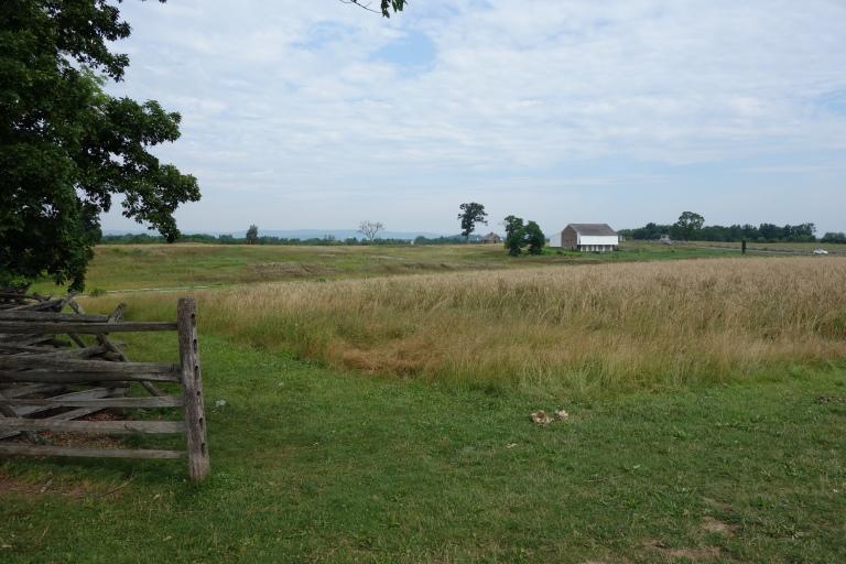 Battlefield at Gettsyburg