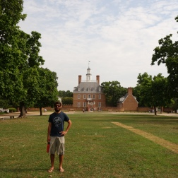 At the Governor's Palace, Williamsburg