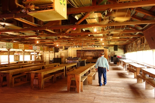 Gruene Dance Hall, the oldest in the US