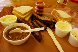 Amazing BBQ in Texas hill country
