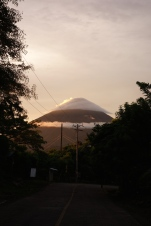 View to Mt Conception, Ometepe