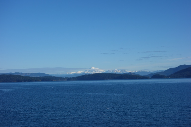 The ridiculously beautiful view on the ferry