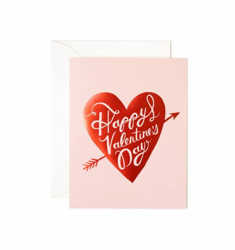 Valentine's Day card from Rifle Paper Company