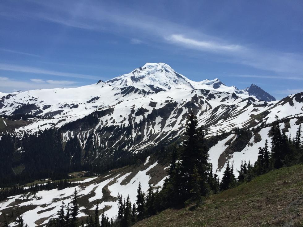 Mt Baker up close