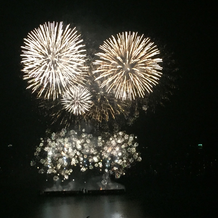 Firework festival in Vancouver